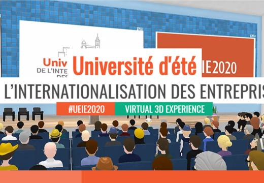 UNIVERSITÉ D'ÉTÉ DE L'INTERNATIONALISATION DES ENTREPRISES – 9 Juil 2020