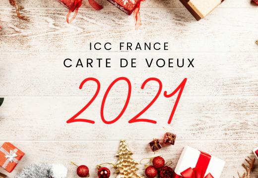 ICC France vous souhaite ses meilleurs voeux !