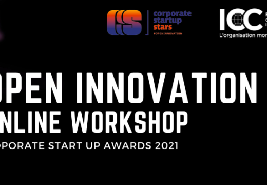 OPEN INNOVATION ONLINE WORKSHOP : COPORATE START UP AWARDS 2021