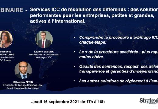 Services ICC de résolution des différends : des solutions performantes pour les entreprises, petites et grandes, actives à l'international